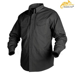 HELIKON-TEX DEFENDER Shirt L/A - Black