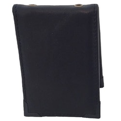 RPS ID-Korthållare i svart skinn - Vadderad