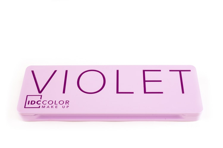 Violet Tin Box
