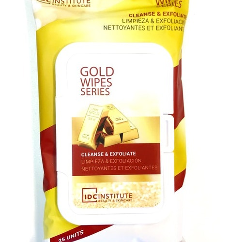 Gold wipes 25p