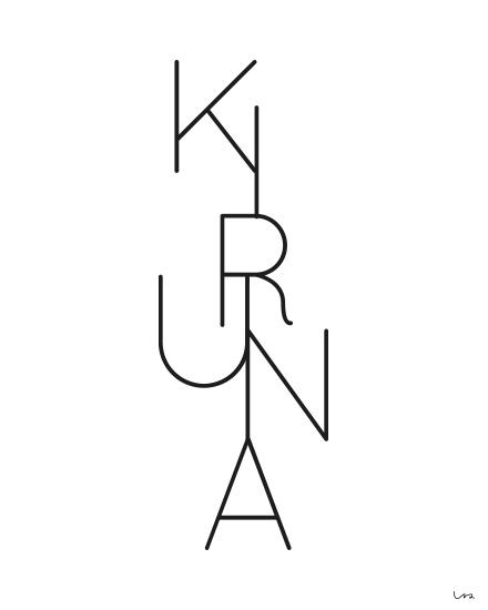 Isaform poster KIRUNA 50 x 70