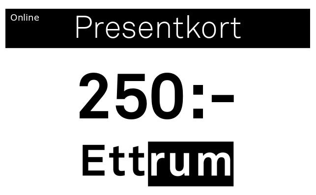 Digitalt Presentkort 250kr