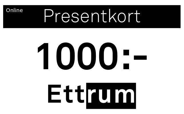 Digitalt Presentkort 1000kr