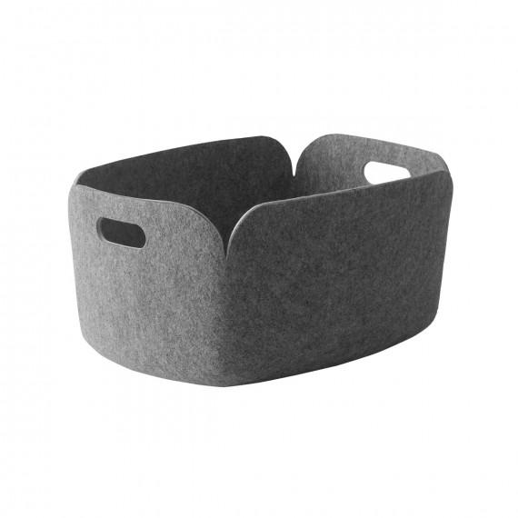 Muuto Förvaringskorg i filt Grey