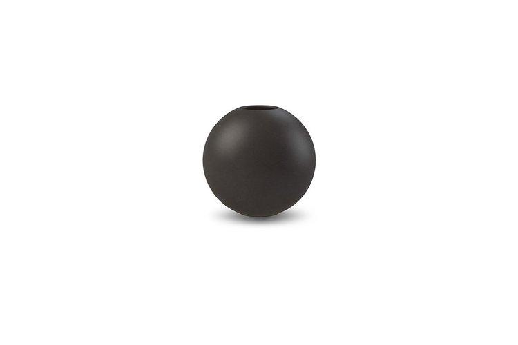 Cooee Design Ball vase, svart 8cm