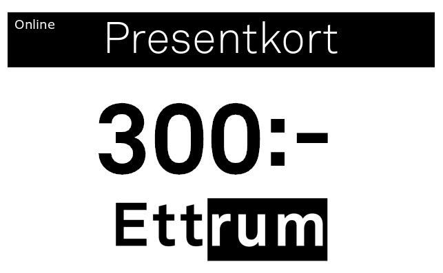 Digitalt Presentkort 300kr