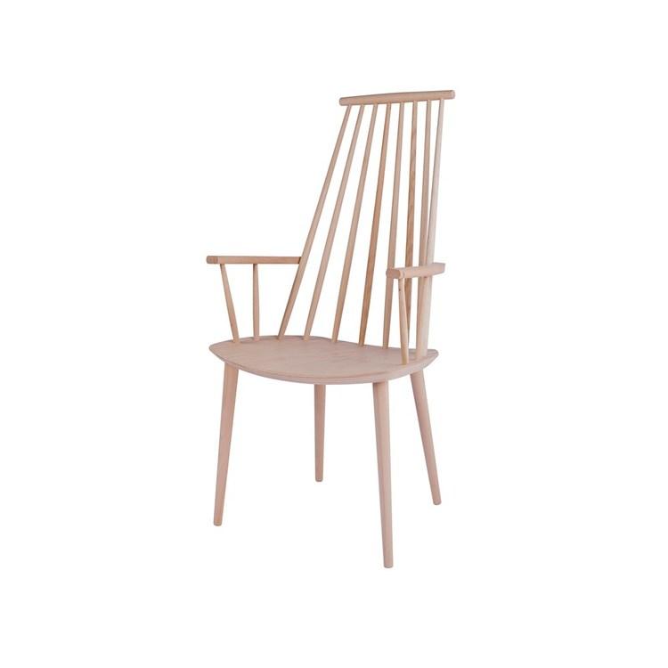 HAY J110 stol Såpad massiv bok