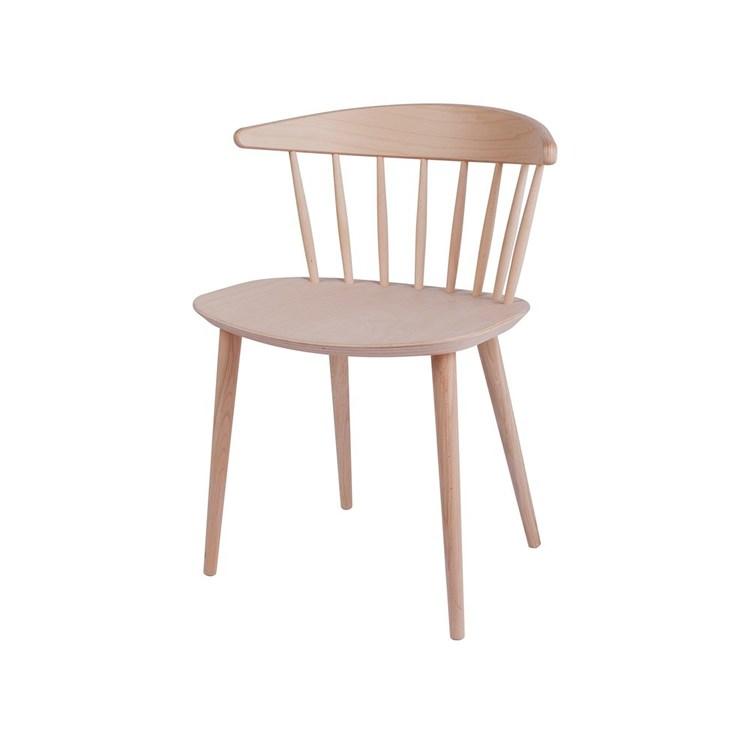 HAY J104 stol Såpad massiv bok