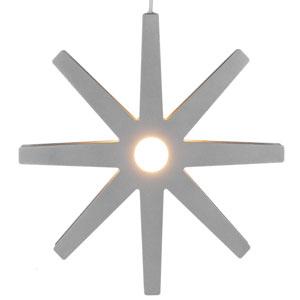 Fling Stjärna 33cm GRÅ