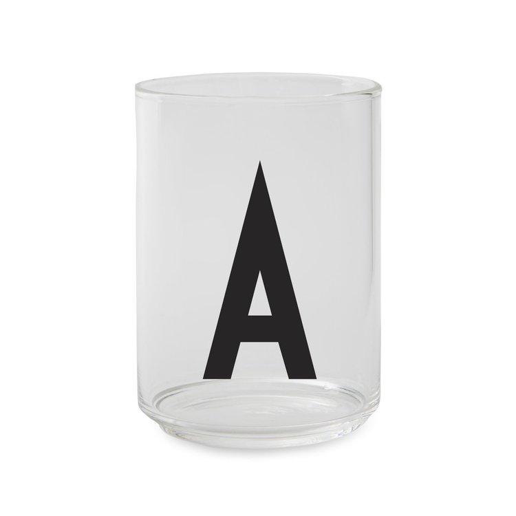 Design Letters dricksglas A-Z