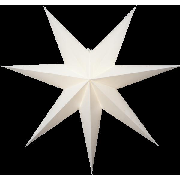 Vit Papperstjärna 75cm