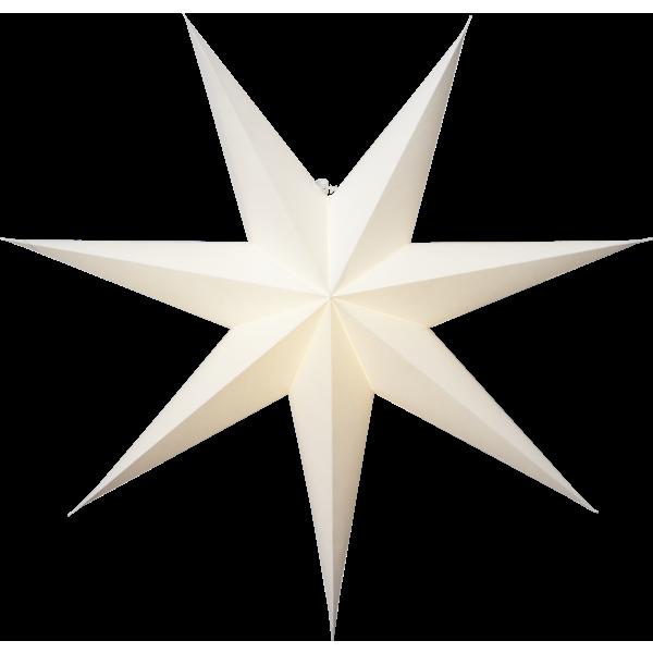 Vit Papperstjärna 60cm