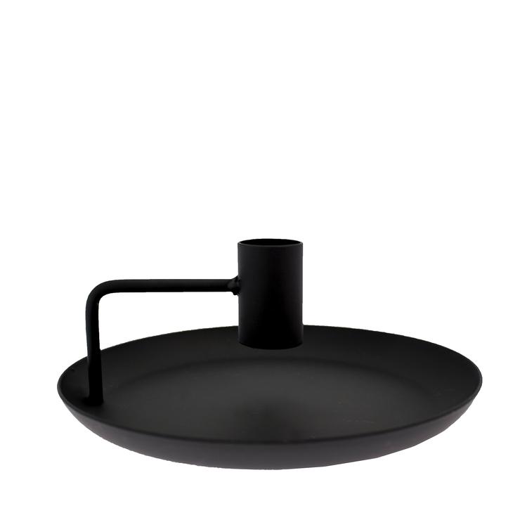 Tegelviken ljusstake svart