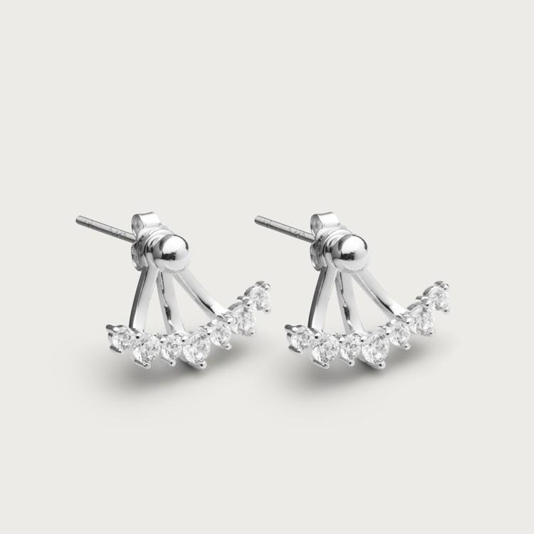 Sparkles øreringe sølv