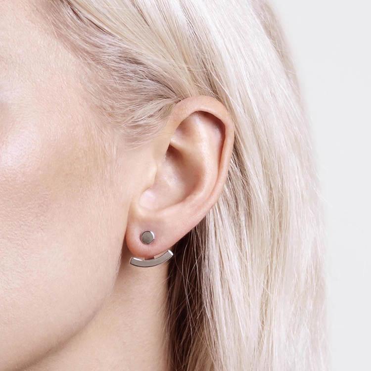 Graphic øreringe