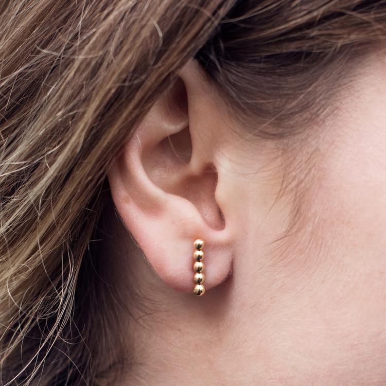 Dots øreringe
