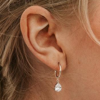 Glimmer øreringe