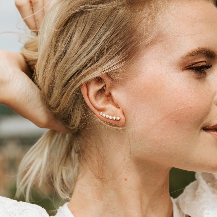 Dazzling øreringe Nellie