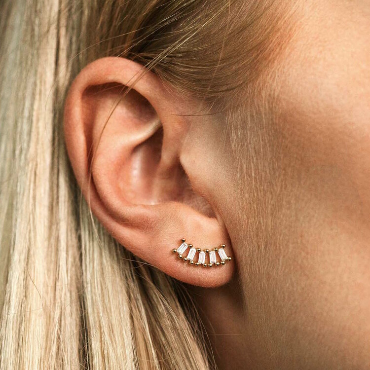 Wave øreringe