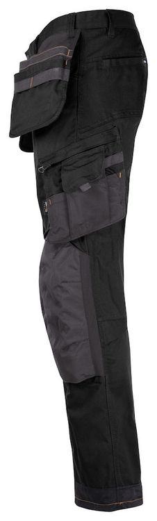 Jobman Workwear Hantverksbyxa Stretch Svart 2164