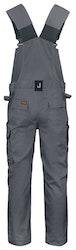 Jobman Workwear Hängslebyxa Grå 3730