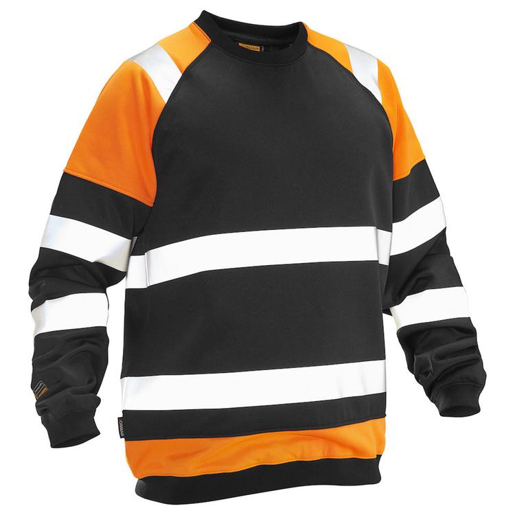 Jobman Workwear Sweatshirt Varsel Orange 5124