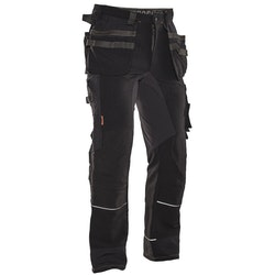 Jobman Workwear Hantverksbyxa Stretch Svart 2191