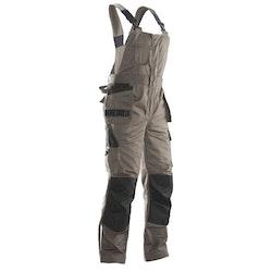 Jobman Workwear Hängslebyxa Khaki 3730