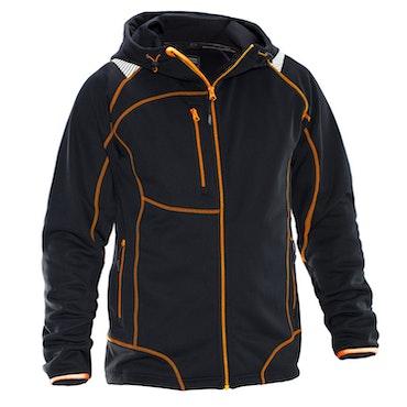 Jobman Workwear Hoodie Vision Svar/Orange