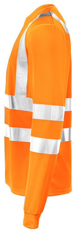 Jobman Workwear Långärmad T-shirt Orange 5593