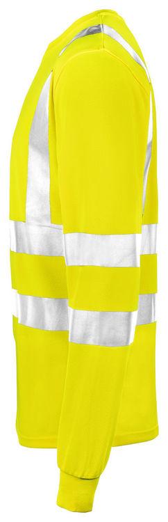 Jobman Workwear Långärmad T-shirt Gul 5593