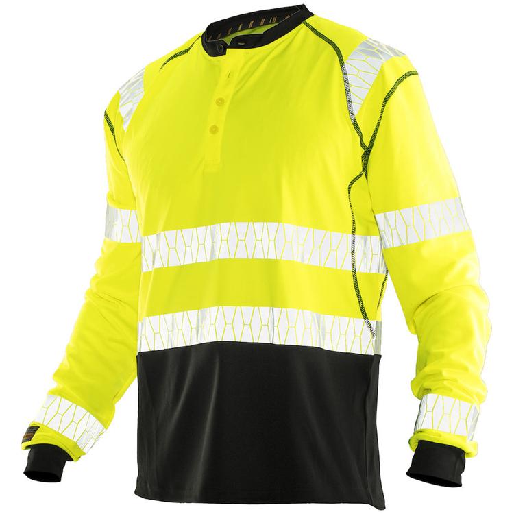 Jobman Workwear Långärmad T-shit UV-Pro Gul 5598