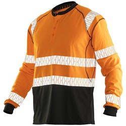 Jobman Långärmad T-shirt UV-Pro Orange 5598