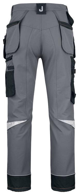 Jobman Workwear Hantverksbyxa Stretch Mörkgrå 2191