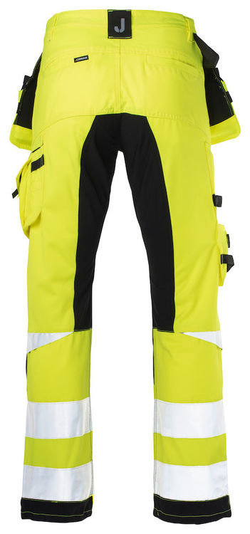 Jobman Workwear Hantverksbyxa Gul 2240