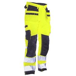 Jobman Workwear Hantverksbyxor Star Gul 2222