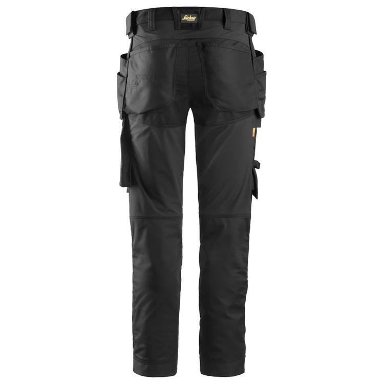 Snickers Workwear AllroundWork Stretchbyxa Svart 6241