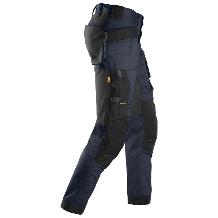 Snickers Workwear AllroundWork Stretchbyxa Marin/Svart 6241