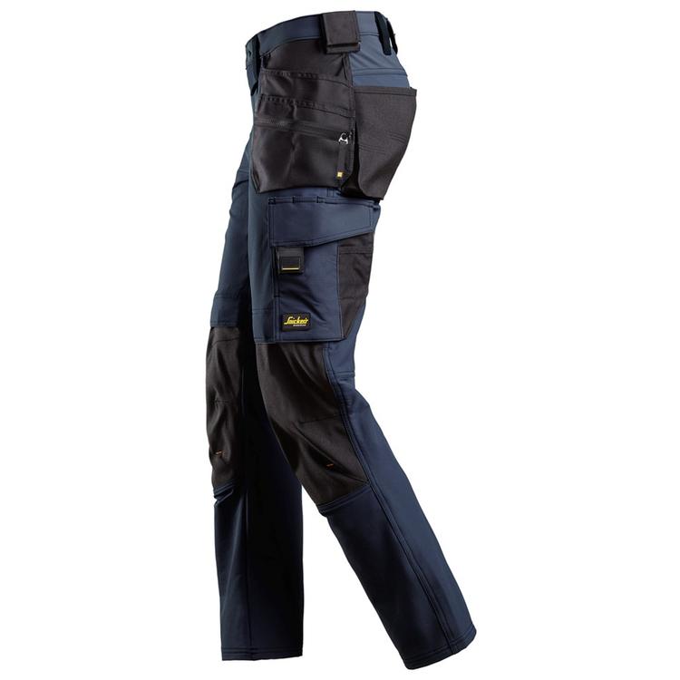 Snickers Workwear AllroundWork Fullstretchbyxa Marin/Svart 6271
