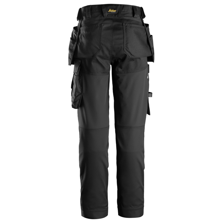 Snickers Workwear AllroundWork Stretchbyxa Dam Svart 6247