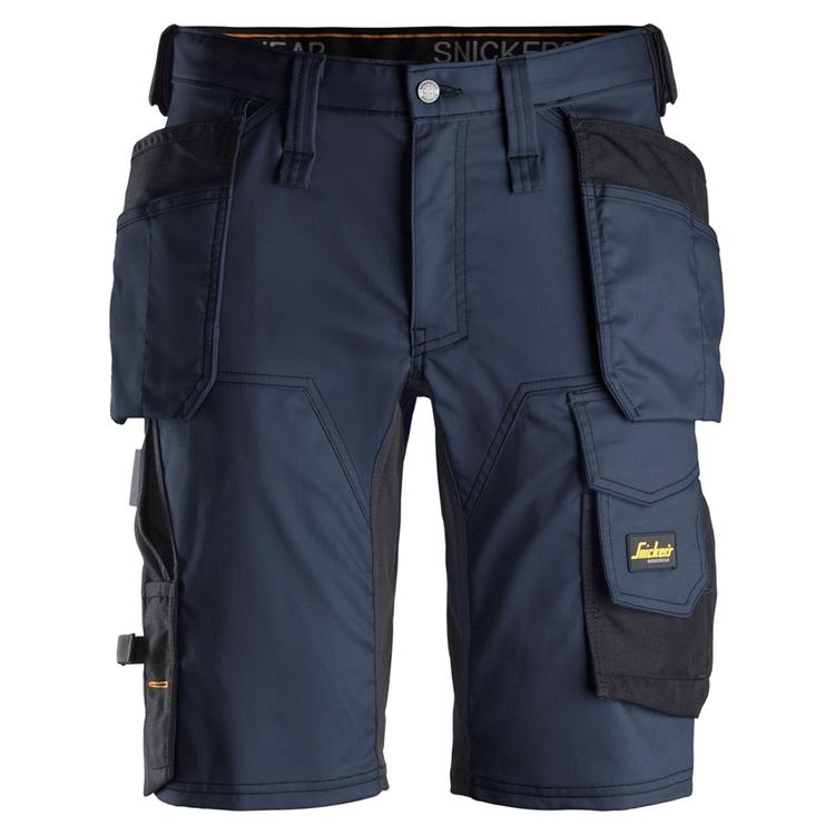 Snickers Workwear AllroundWork Stretch Shorts Marin/Svart 6141