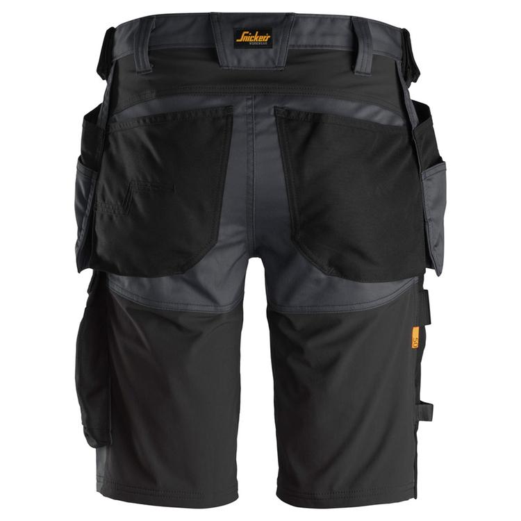 Snickers Workwear AllroundWork Stretch Shorts Grå/Svart 6141