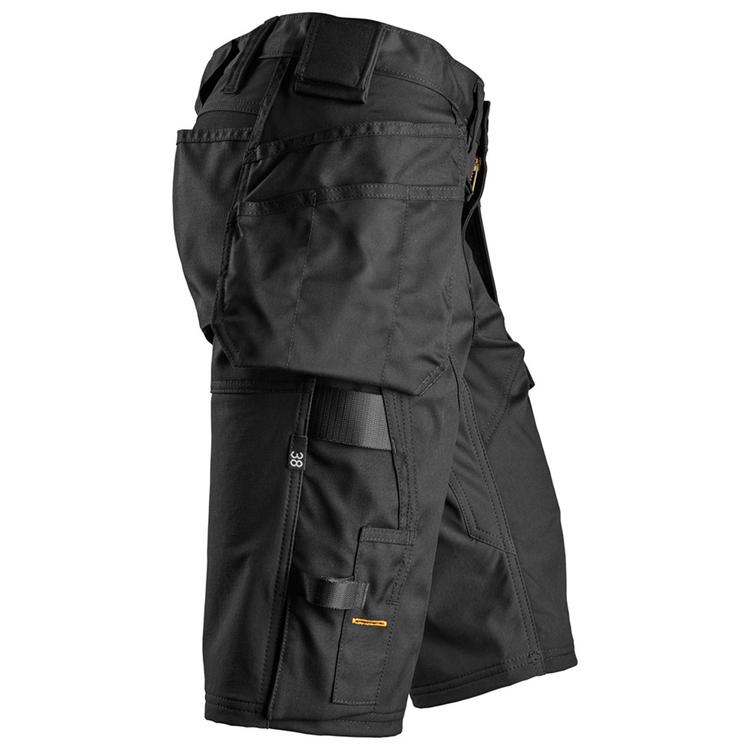 Snickers Workwear AllroundWork Stretch Shorts Dam Svart 6147