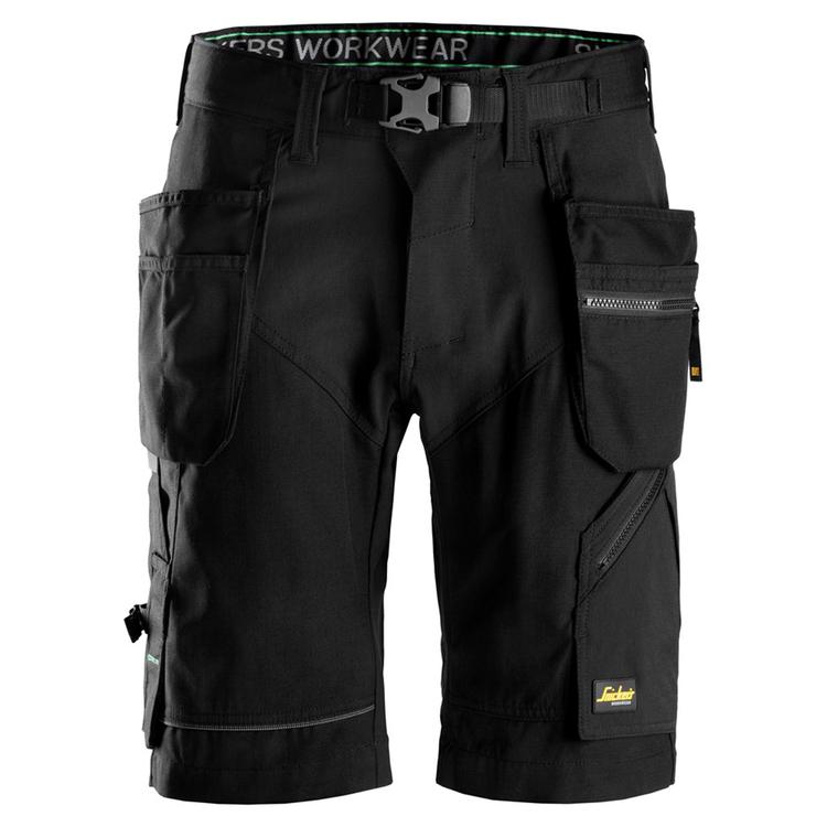 Snickers Workwear FlexiWork Shorts Svart 6904