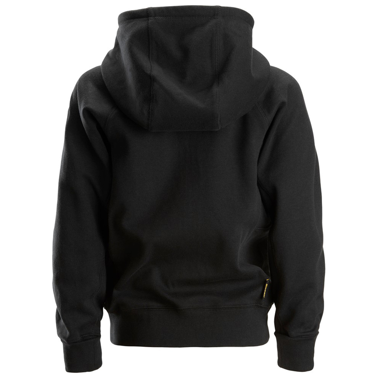 Snickers Workwear Junior Full-Zip Hoodie Svart