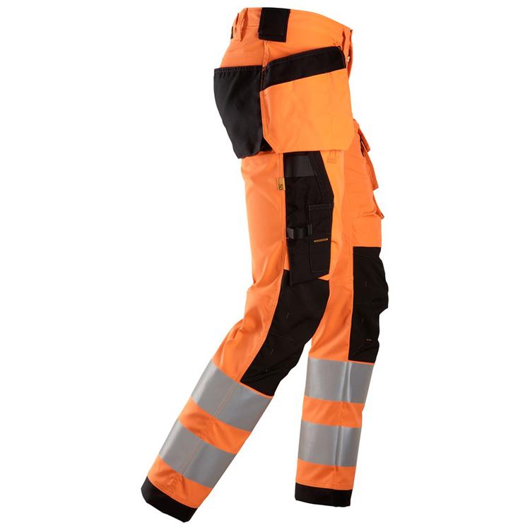 Snickers Workwear Varsel Stretchbyxor Orange 6243