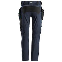 Snickers Workwear LiteWork, Arbetsbyxor med avtagbara hölsterfickor Marin/Svart 6208