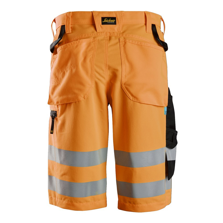 Snickers Workwear LiteWork Varselshorts+ Orange 6132