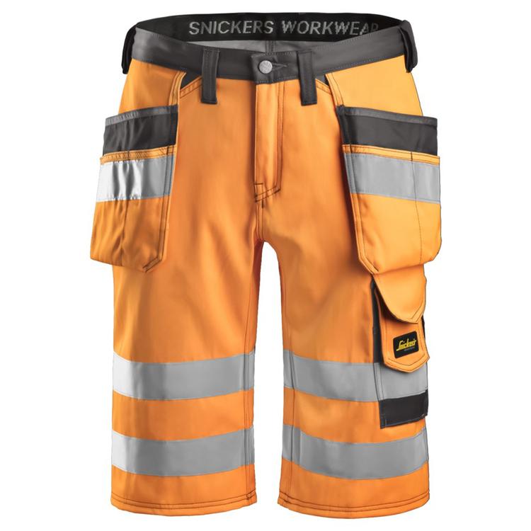 Snickers Workwear Varselshorts Orange 3033
