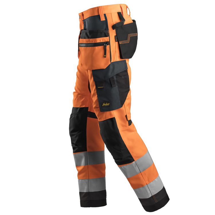 Snickers Workwear AllroundWork Varselbyxa Orange 6230